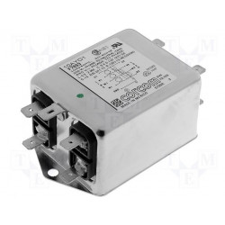 EMI three-phase network filter for electronic electrical devices 440V 10A