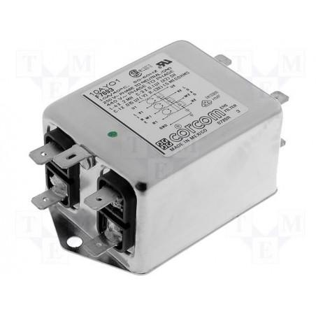 Filtro di rete antidisturbo EMI trifase apparati elettrici elettronici 440V 10A