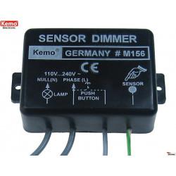 Dimmer elettronico incasso intelligente pulsante sensore touch lampade motori 230V 1kW