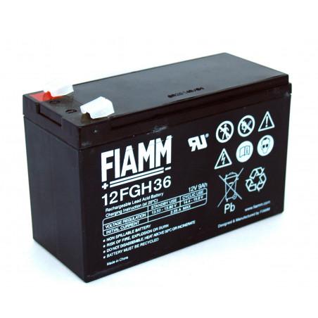Batteria piombo GEL ricaricabile 12V 9Ah per UPS, fotovoltaico, allarmi