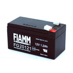 Batteria piombo GEL ricaricabile 12V 7,2Ah per UPS, fotovoltaico, allarmi