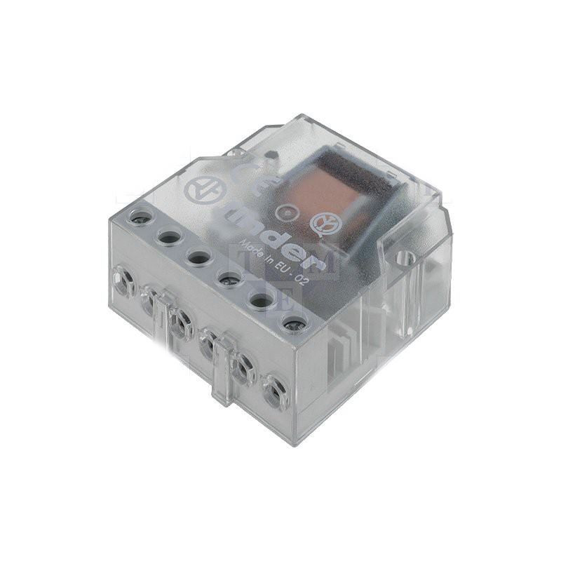 FINDER 26.04 Relay step by step 230V AC 2 contacts 10A 250V 4 sequences