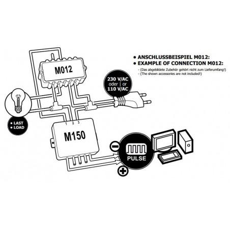 DC PWM voltage control converter for power controls M012 M028N