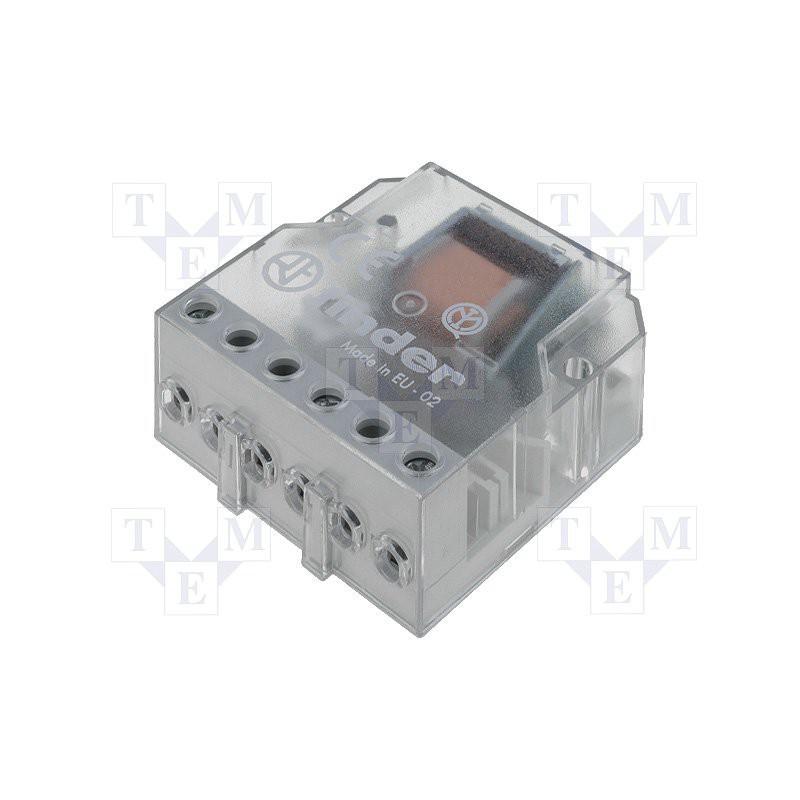 FINDER Schritt für Schritt Relais 24V AC 1 Kontakt 10A 250V 2 Sequenzen