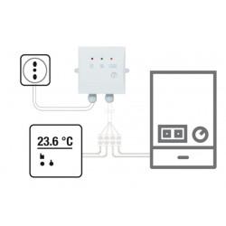 Cronotermostato WiFi settimanale parete via filo Comfort.me APP smartphone