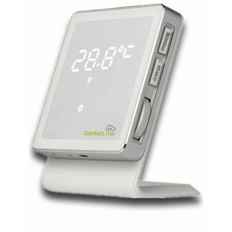 Cronotermostato WiFi settimanale Wireless Comfort.me APP smartphone