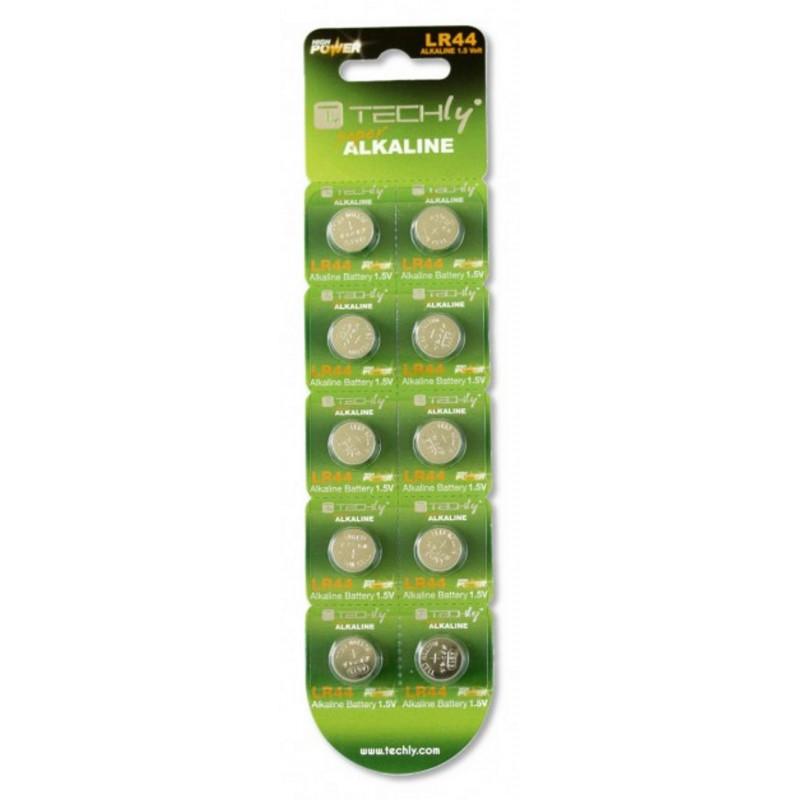 SET 10pz Batteria a Bottone Alcalina AG13 LR44 A76 GP76A 357