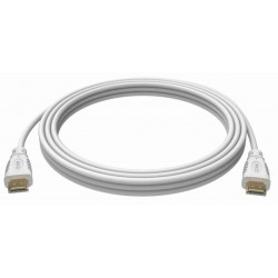 Cavo High Speed HDMI con Ethernet 3 metri Bianco