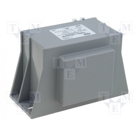 Trasformatore incapsulato con morsetti 230V 24V 105VA TMBZ 100/002M
