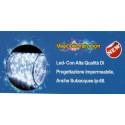Filo luminoso flessibile decorativo LED IP68 con alimentatore