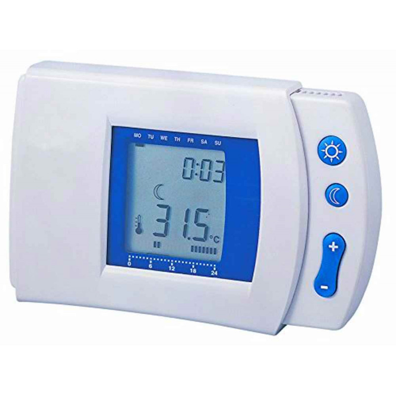 Digital weekly chrono thermostat heating electronic air conditioning