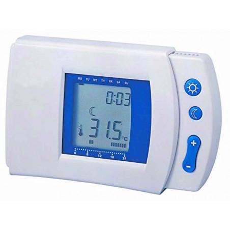 Cronotermostato digital semanal calefacción aire acondicionado electrónico