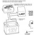 Interruttore sensore attivatore carico mancanza vibrazione movimento 12V DC