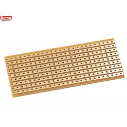 Experimental board, striped grid, small