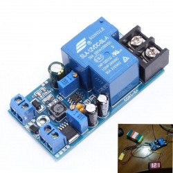 Battery charger protection switch 12V automatic charging control