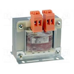 Transformateur de construction ouvert avec bornes 230V 24V 100VA TMB 100 / 002M / 1