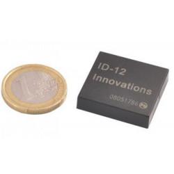 RFID-LESERMODUL MIT ULTRA-KOMPAKTER ANTENNE 125 KHz EM4100 U SCI TA TTL-ID12LA
