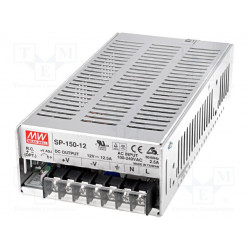 Universal switching stabilized active PFC power supply 12V DC 12.5A SP-150-12