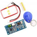 Lettore RFID 125kHz EM4100 UART TTL 3.3-5V con antenna per Arduino e Raspberry