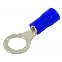 ELECTRALINE Terminale A Occhiello Blu Confezione Pezzi 10 Mm. 5,3