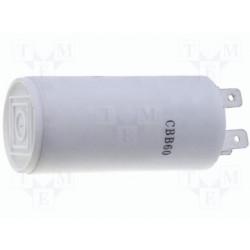 Condensateur polypropylène 1,5µF 450V pour moteurs en régime permanent avec connecteurs faston