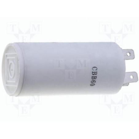 Condensatore polipropilene 1,5µF 450V per motori in regime con connettori faston