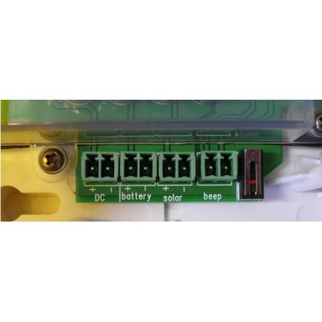Sirena wireless esterno auto alimentata allarme antifurto Defender 868 MHz 12V 100dB
