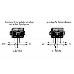 Universeller 12W Plug & Play 6-16V DC Audioverstärker