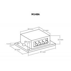 Ahorrador de batería de plomo sobre protección contra descarga 12V DC 10A