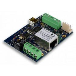 IP COM Trasmettitore IP ethernet LAN per centrali allarme Contact ID
