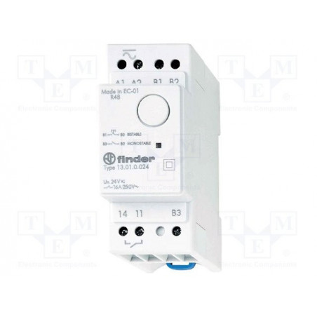 FINDER 13.01 Pulse or monostable electronic relay 240V AC 16A 250V contacts