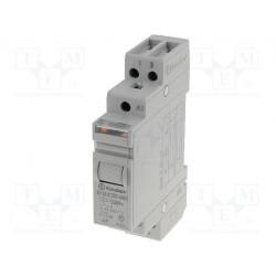 FINDER 20.23 Relé de impulso biestable 12V DC con 2 contactos NA NC 16A 250V
