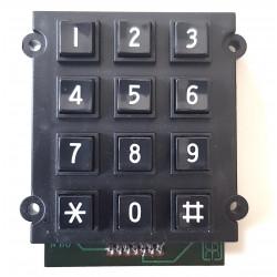Tastiera matrice keypad 4x3 plastica Arduino telefono Rotor