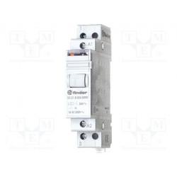 FINDER 20.23 Relé de impulso biestable 230V AC con 2 contactos NA NC 16A 250V