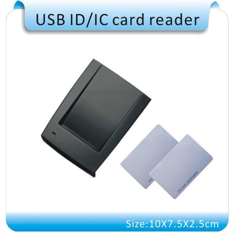 Lettore RFID 125kHz EM4100 da tavolo USB COM RS232 VIRTUALE