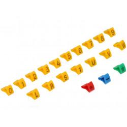 Set di segnacavi 3-6,5mm Numero dei pezzi nel kit 600 H 8mm  ROH