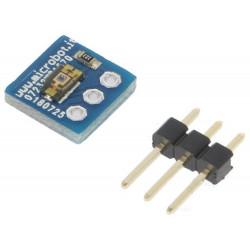 Sensore intensità luce ambientale TEMT6000 analogico 5VDC 8,9x8,9mm per Arduino