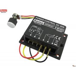 POWER CONTROL PWM 9-28V DC 10A pour moteurs, chauffages et LED