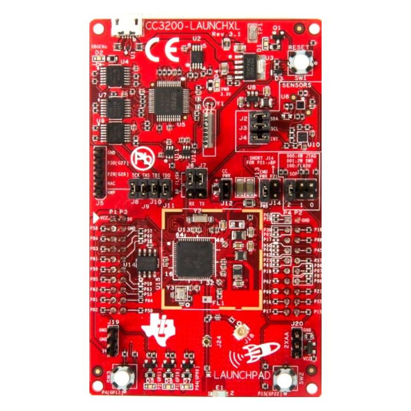Microcontroller Development Kit und TI SimpleLink Wi-Fi CC3200 LaunchPad