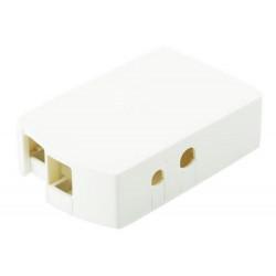 Case per Raspberry Pi 1, bianco, per Pi A, Pi B