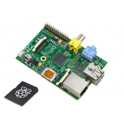 Raspberry PI Model B 256MB RAM 700MHz ARM Embedded PC + SD SO 8GB