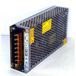 Alimentatore switching stabilizzato 12VDC 10A agganciabile a quadro elettrico