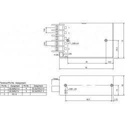 Convertitore DC-DC isolato ingresso 9.2-18V uscita 5V 3A SD-15A-05 batterie 12V