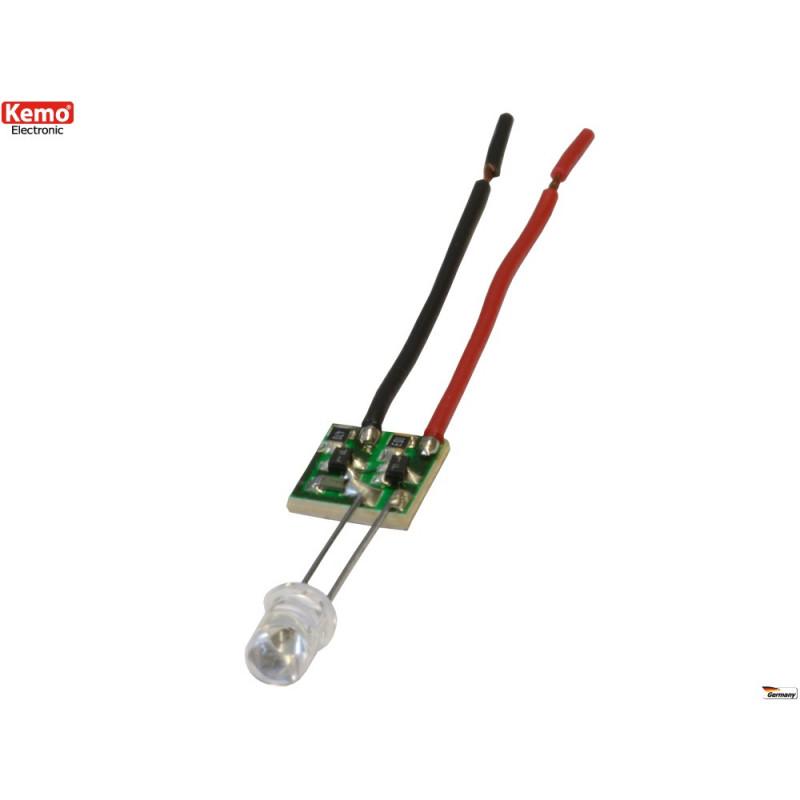 Indicatore LED alimentatore corrente constante 15mA 4 – 30V DC multiuso