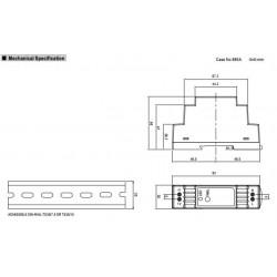 Alimentatore barra DIN universale switching stabilizzato 15V DC 1A DR-15-15