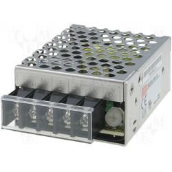 Alimentatore universale switching stabilizzato 24V DC 625mA RS-15-24