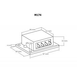 Doppelter Solarladeregler für 12V 16A Photovoltaik-Module