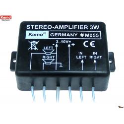 Compact 40W Audio Power Amplifier 4 - 8 Ohm 6-16V DC
