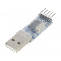 Modulo convertitore USB UART PL2303 USB RS232 TTL 3,3÷5VDC