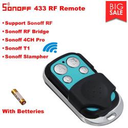 Sonoff RF 433 Wireless Telecomando 4 canali per comando dispositivi Sonoff RF